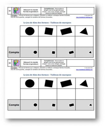 Image de Jouer avec les formes géométriques