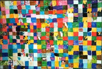 """Image de Le patchwork """"Cache-cache tissu"""""""