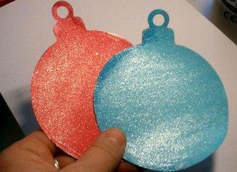 Image de Boules de Noël scintillantes