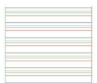 Image de Ecrire : Feuille 4 lignes pour dyspraxique, dysgraphique,....