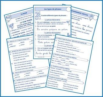 Image de Grammaire exercices et leçons