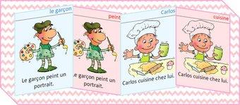 Image de CE1/ CE2 jeu de 7 familles grammaire