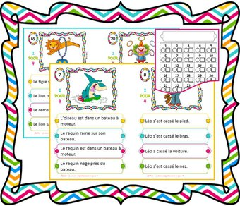 Image de Atelier de lecture compréhension de phrases
