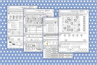 Image de CP Numération : fiches exercices 20 à 99