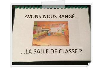Image de [Maternelle] Rituel - Avons-nous rangé la salle de classe ?