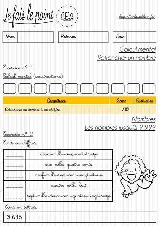 Image de CE2-Mathématiques-Les évaluations