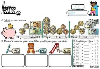 Image de CE2-Mesures-La monnaie