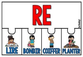 Image de CM-Vocabulaire-Les préfixes-Les affichages