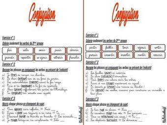 Image de CM-Conjugaison-Les fiches d'exercices