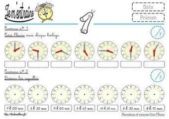 Image de CE2-Mesures-Lire l'heure