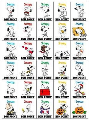 Image de La gestion du comportement-Les bons points Snoopy