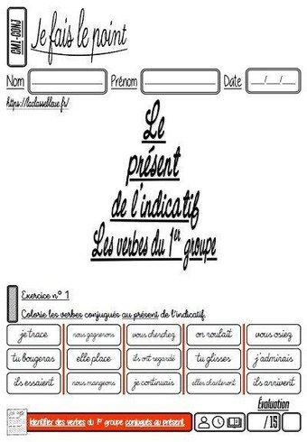 Image de CM-Conjugaison-Les évaluations