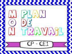 Image de Plans de travail cp et ce1 : periode 5