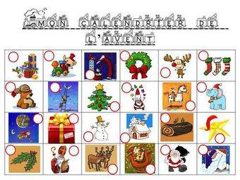Image de Noel - mon calendrier de l'avent