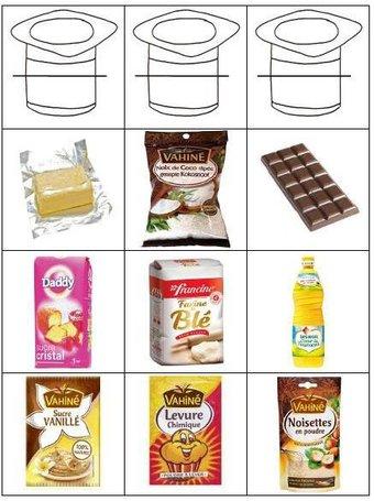 Image de étiquettes recette