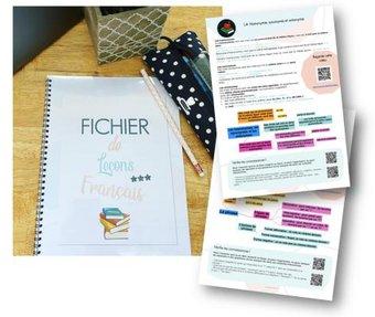 Image de Fichier de leçons de français CM2 – version 2020-2021
