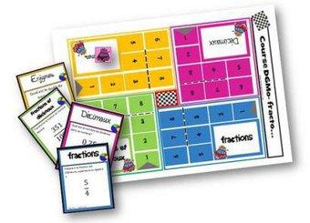 Image de Course D6Mo fracto – jeu sur les fractions et nombres décimaux