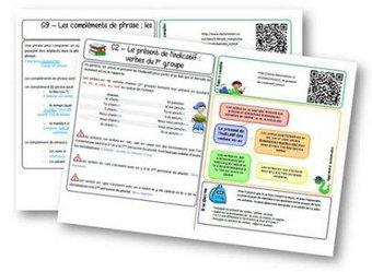 Image de Fichier de leçons de français CM1 – programmes 2016