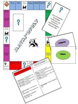Image de Maths'opoly – jeu pour réviser les maths