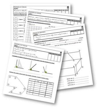 Image de Evaluations maths CM2