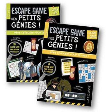 Image de Escape Game des petits génies – cahiers de vacances ludiques