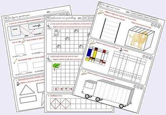 Image de Les maths et moi (Fichier espace, géométrie pour CP)