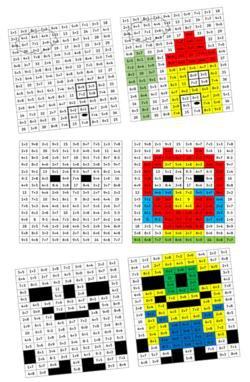 Image de PixArt des additions (jeu pour CP)