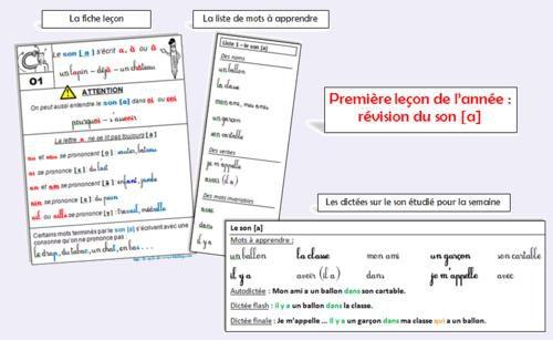 Dictees Lecons Exercices D Orthographe Ce1 1ere Partie Par Le Stylo De Vero Jenseigne Fr