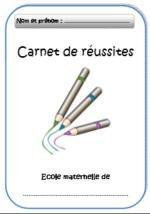 Image de Des carnets de réussites pour élèves du cycle 1