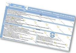 Image de progressions / programmations en CM1 CM2