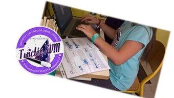 Image de Twictée : élaboration des twoutils et envoi en cours
