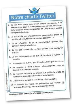 Image de Charte Twitter