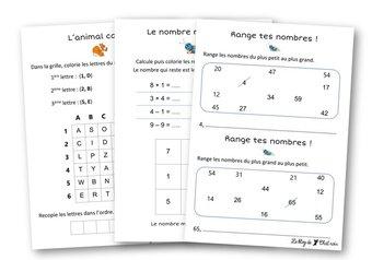 Image de Petits exercices de maths