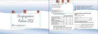 Image de *Fichiers exercices français CE2 + évaluations