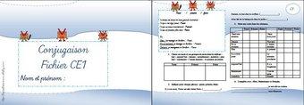 Image de *Fichiers exercices français CE1 + évaluations
