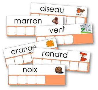 Image de ~Fiches d'encodage - Atelier des mots~