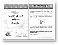 Image de ~Des cahiers de réussite en maternelle~