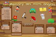 Image de Memory anglais : mots fréquents