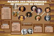 Image de Memory des grands personnages de l'histoire de France