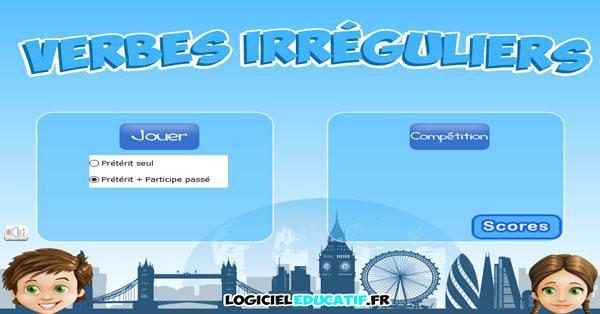 Les Verbes Irreguliers Anglais Par Logicieleducatif Fr Jenseigne Fr