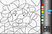 Image de Coloriage magique du clown