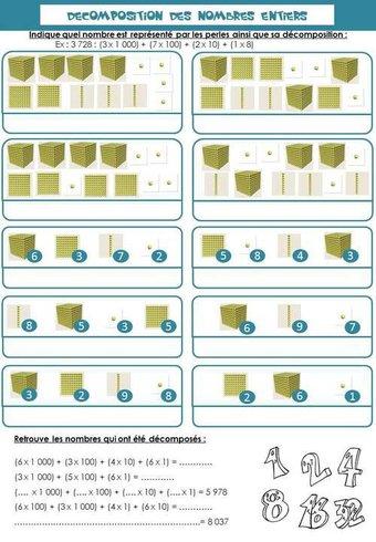 Image de Décomposition des nombres - Ce2