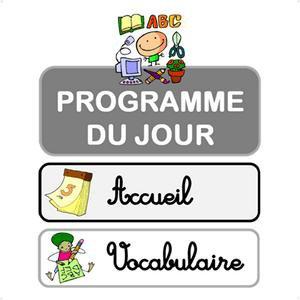 Image de Affichage du programme du jour