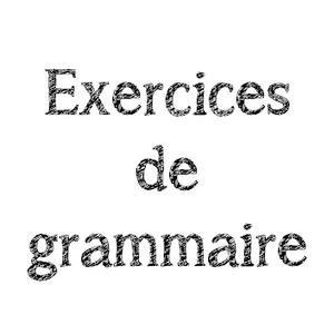 Image de Exercices de grammaire CE2