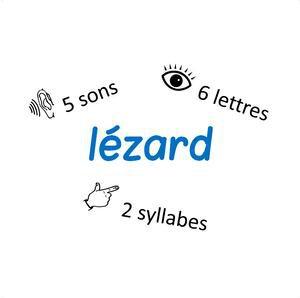 Image de Mots, lettres, sons et syllabes
