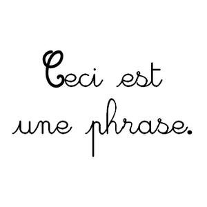 Image de La phrase au CE2