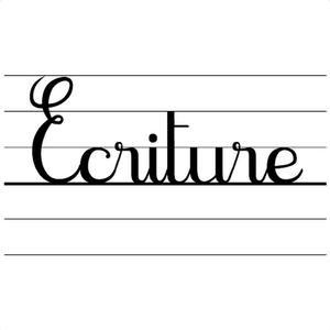 Image de L'écriture des lettres cursives au CP