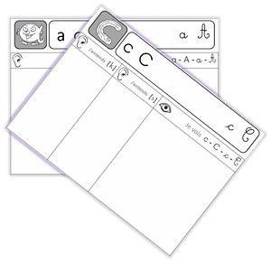 Image de Fichier de sons CP avec les Alphas