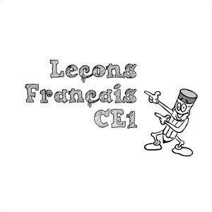 Image de Leçons Etude de la langue CE1