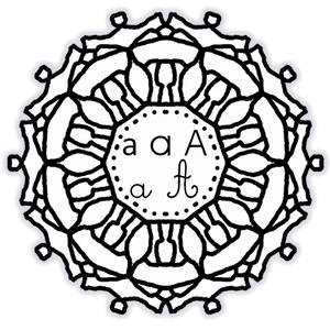 Image de Les mandalas de l'alphabet